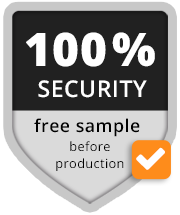 100 % security free sample for you